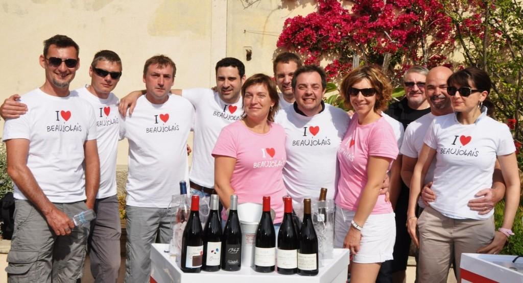 Just Rosé - équipe TShirts I love Bjls